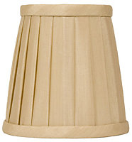 Colours Bonita Gold effect Candle Light shade (D)130mm