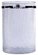 Crackle Clear Cylinder Light shade (D)110mm