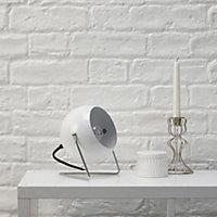 Colours Bobo White Incandescent Table lamp