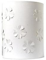 Colours Flower White Raised flower Light shade (D)200mm
