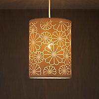 Daisy Beige Laser cut Light shade (D)190mm