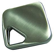 Nickel effect Zinc alloy Square Diamond Furniture Knob