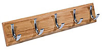 Oak Hook rail, (L)460mm