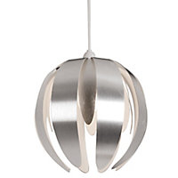 Canna Silver effect Petal Light shade (D)270mm