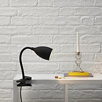 Dana Black Clip-on desk lamp