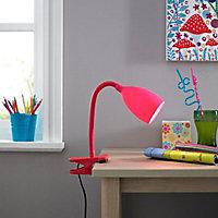 Dana Pink Clip-on desk lamp