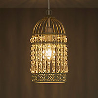 Isobel Cream Birdcage Light shade (D)150mm