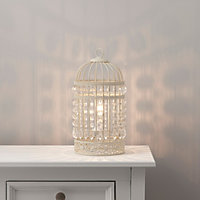 Isobel Cream Incandescent Table lamp