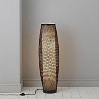 Joyce Chocolate Incandescent Floor lamp