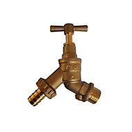 Plumbsure Brass Thread Tap with check valve
