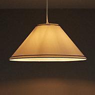 Coolie Cream Glitter Light shade (D)360mm