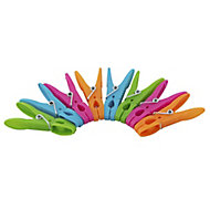 Multicolour Clothes pegs, Pack of 100