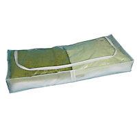 Clear Plastic Basket (H)50mm (W)210mm