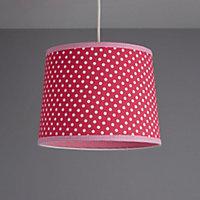 Colours Suisei Pink Polka dot Light shade (D)260mm