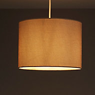 Colours Harstad Woven Beige Light shade (D)305mm