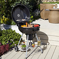 Eiger Black Charcoal Barbecue