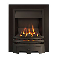 Sirocco Westerly Open Fronted Black Multiflue gas fire