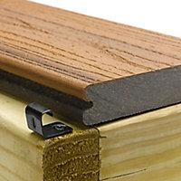 Trex® Black oxide Nylon Hidden fastening system, Pack of 94