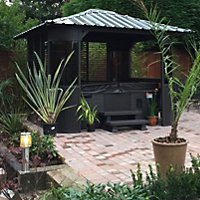 Canadian Spa Frazer Freestanding Brown Gazebo With assembly service