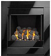 Sirocco Ignite Cristal Black Gas Fire
