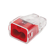 Ideal Red 32A In-line wire connector, Pack of 100