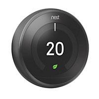 Google Nest Black Learning thermostat