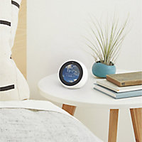 Amazon Echo Voice Assistant with Screen - Spot White