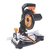 Evolution 1200W 240V 210mm Compound mitre saw R210CMS