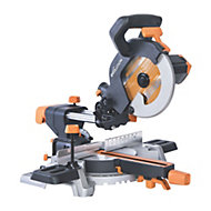 Evolution 1500W 240V 210mm Sliding mitre saw R210SMS