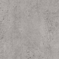 12.5mm Exilis Woodstone Grey Square edge Laminate Worktop (L)1.5m (D)425mm
