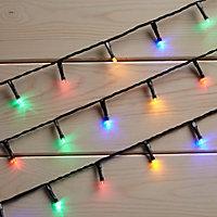 120 Multicolour LED String lights