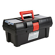 """16"""" Plastic 3 compartment Toolbox"""