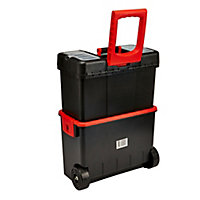 "18"" Polypropylene 2 compartment Toolbox"