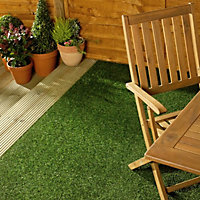 Marlow Medium density Artificial grass (W)2 m x (T)19mm
