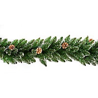 2.7m Rocky Mountain Green Christmas garland
