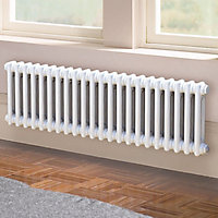 2 Column Radiator, White (W)1042mm (H)300mm