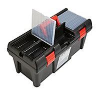 """20"""" Plastic 5 compartment Toolbox"""