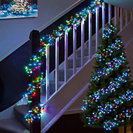 2000 Multicolour LED String lights Green cable