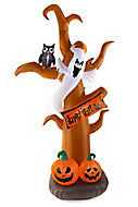 2740mm Halloween tree Inflatable with White LED