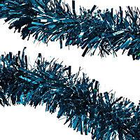 2m Blue Metallic effect Tinsel