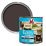 V33 Easy Brown tan Satin Furniture paint, 0.5L