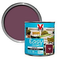 V33 Easy Fresh fig Satin Furniture paint, 0.5L