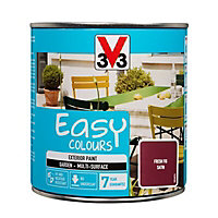 V33 Easy Fresh fig Satin Furniture paint, 0.5L