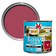 V33 Easy Hibiscus Satin Furniture paint, 0.5L