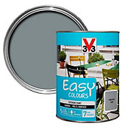 V33 Easy Pebble grey Satin Furniture paint, 1.5L
