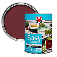 V33 Easy Basque red Satin Furniture paint, 1.5L