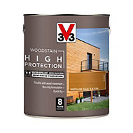 V33 High protection Medium oak Mid sheen Wood stain, 750ml