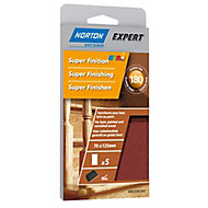 Norton Aluminium oxide Sanding block refill, Pack of