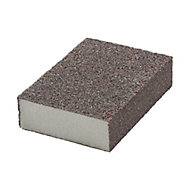 Norton Medium/Coarse Sanding sponge (L)100mm (W)68mm