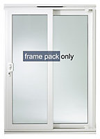 Richmond White uPVC External Patio Door frame, (H)2050mm (W)1490mm